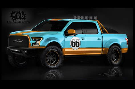 Seven Modified 2016 Ford F-150 Pickups Coming To Sema