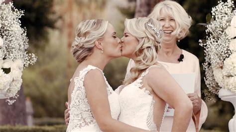 Wegans Wedding Palm Springs Ca Lesbian Wedding