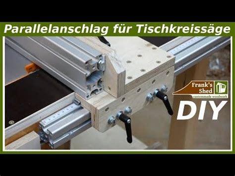 untertisch für tischkreissäge parallelanschlag f 252 r tischkreiss 228 ge selber bauen