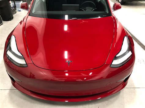 Download Protective Interior Film For Interior Of Tesla 3 Background