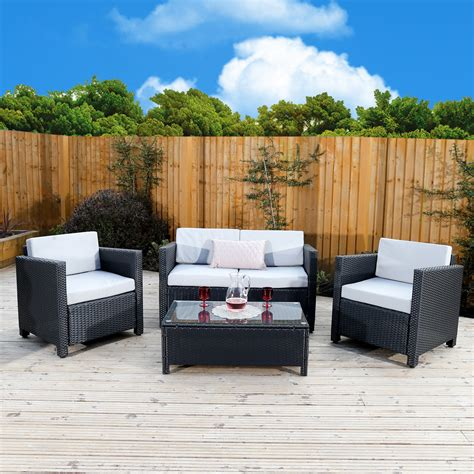 Rattan Garden Sofa Sets Uk by 4 Roma Rattan Sofa Set From Abreo Abreo Home Furniture