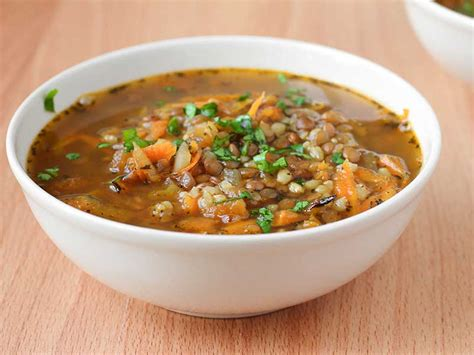 sos cuisine com rice and lentil soup gluten free vegetarian a