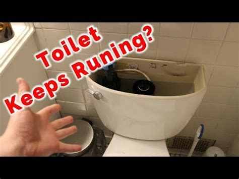 fix  toilet   running  replacing