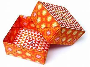 Comment Faire Une Boite En Origami : bo te en origami ~ Dallasstarsshop.com Idées de Décoration