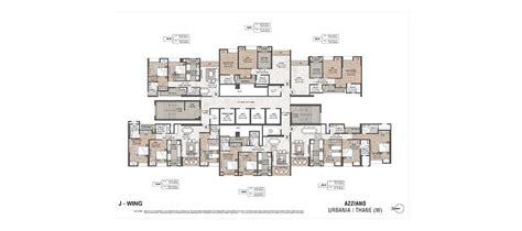 J Wing Floor Plan Azziano