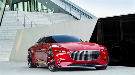 Cars Wallpaper Hd : 2017 Vision Mercedes Maybach 6 K Wallpaper