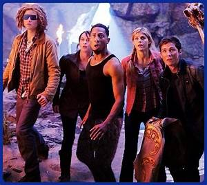 Tyson, Clarisse, Grover, Annabeth, and Percy.Love them ...
