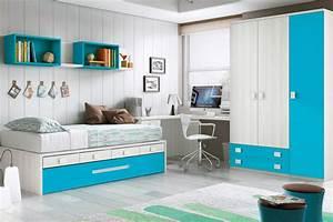 Chambre Enfant Garcon Design Avec Lit Gigogne GLICERIO