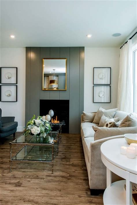 Stylish Urban Living Transitional Living Room Other