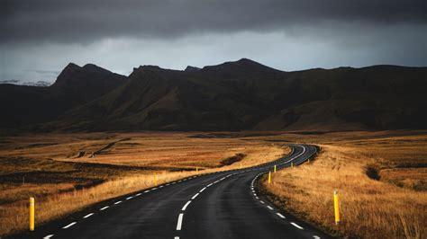 wallpaper iceland   wallpaper road mountains