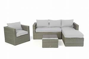 Polyrattan Lounge Rund : polsterbezug passend zu polyrattan lounge galicia berzugsset in grau ~ Indierocktalk.com Haus und Dekorationen