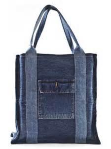 Denim Shopping Bag Pattern