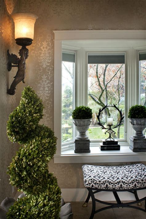 pin  ladi lott  windowsill bay window decor bay
