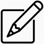 Writing Note Remember Important Write Pencil Icons