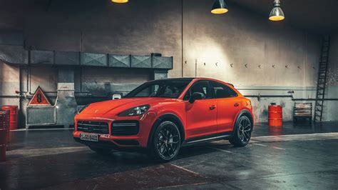 porsche cayenne turbo coupe wallpapers specs
