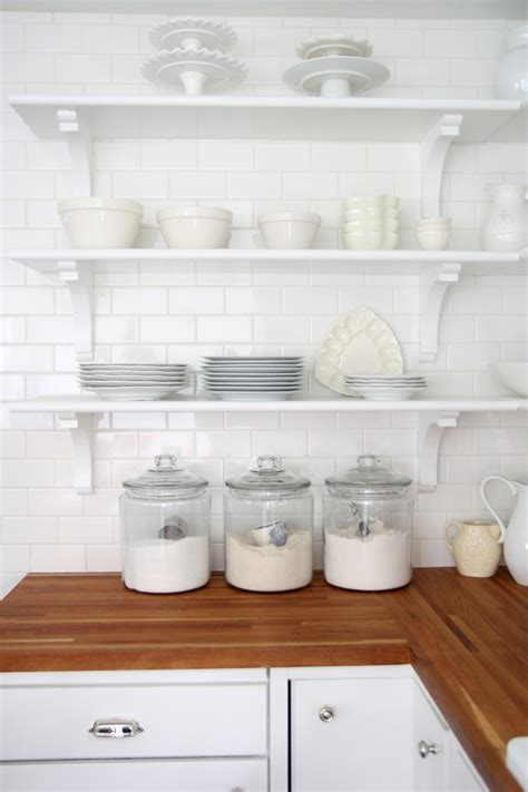 glass canisters for kitchen decorating with glass canisters in the kitchen