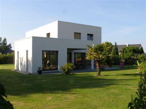 maison contemporaine toit plat constructeur 76 nos