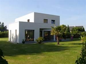 Maison Moderne Toit Plat : maison contemporaine toit plat constructeur 76 ~ Nature-et-papiers.com Idées de Décoration