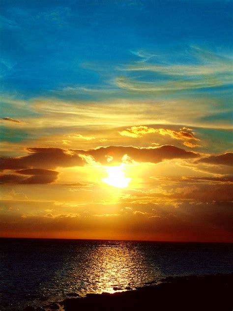 Blue Heaven | Beautiful sunset, Beautiful nature, Amazing ...