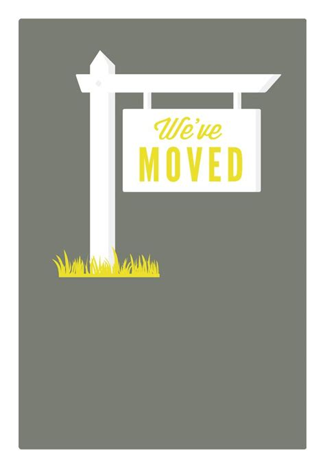 address  printable moving announcement