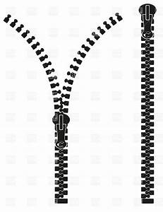 Black And White Zipper Clipart - Clipart Suggest