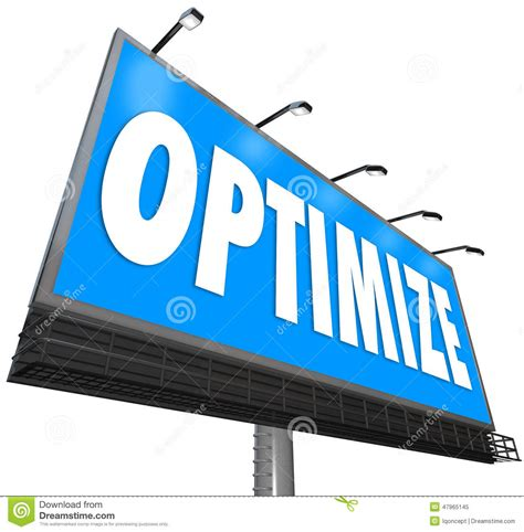 Optimizing Media Graphics How To Employees To Handle Optimize Word Billboard Revising Optimization