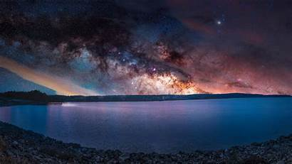 Sea Colorful Stars Landscape Sky Wallpapers Earthporn