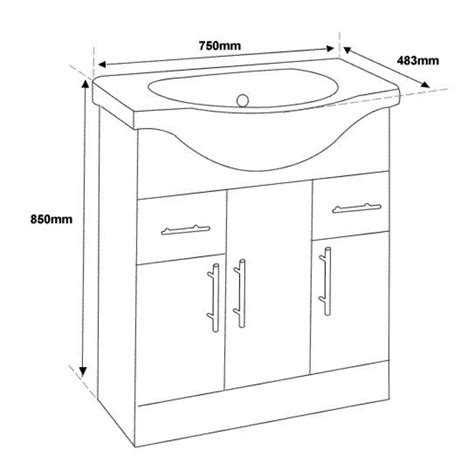 standard bathroom cabinet height beauteous 30 bathroom vanities dimensions design ideas of