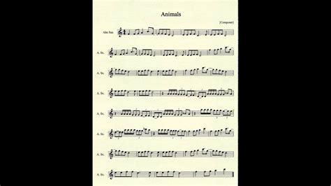 animals  martin garrix  alto sax youtube