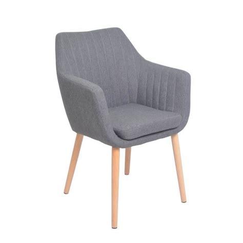 chaise fauteuil salle à manger kina chaise de salle à manger en métal et bois massif