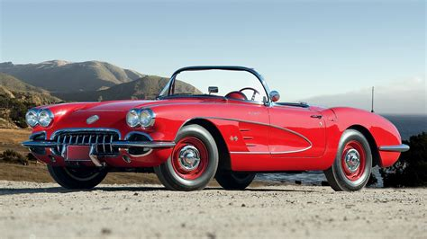 Classic Red Car Wallpapers (19 Wallpapers)