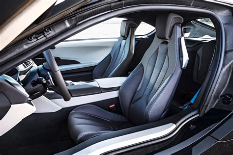 bmw supercar interior bmw i8 plug in hybrid sports car pictures and details video