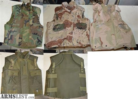Military Type Body Armor