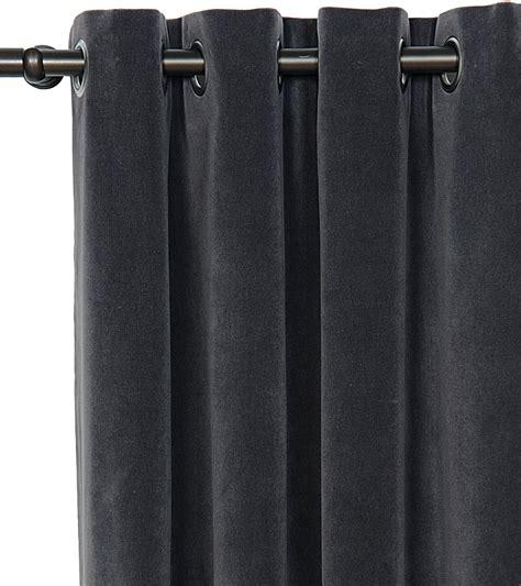 dark grey velvet curtains home design ideas