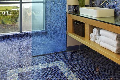 pros  cons  mosaic glass tile flooring
