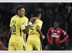 Neymar stars on his PSG debut with a goal and an assist vs