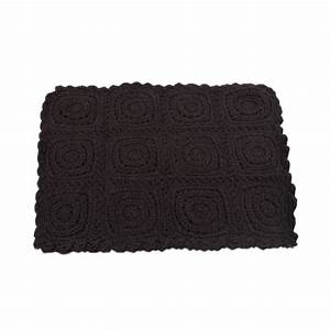 tapis crochet gris anthracite lecons de choses With tapis gris anthracite