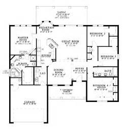 Single Level House Designs by One Level Home Plans Smalltowndjs