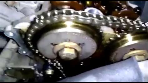 Chevrolet Beat Timing Chain Marks Youtube