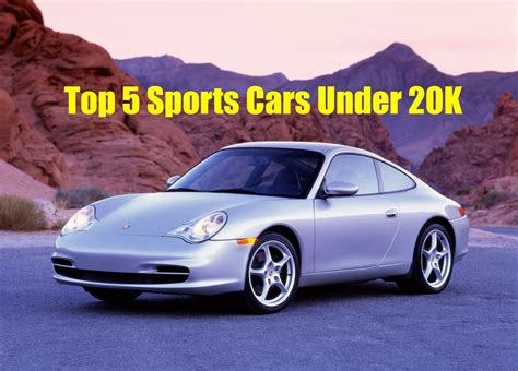 The Top 5 Best Sports Cars Under 20k!!