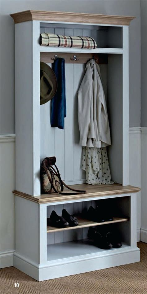 Entryway Hall Tree With Storage And Cushion