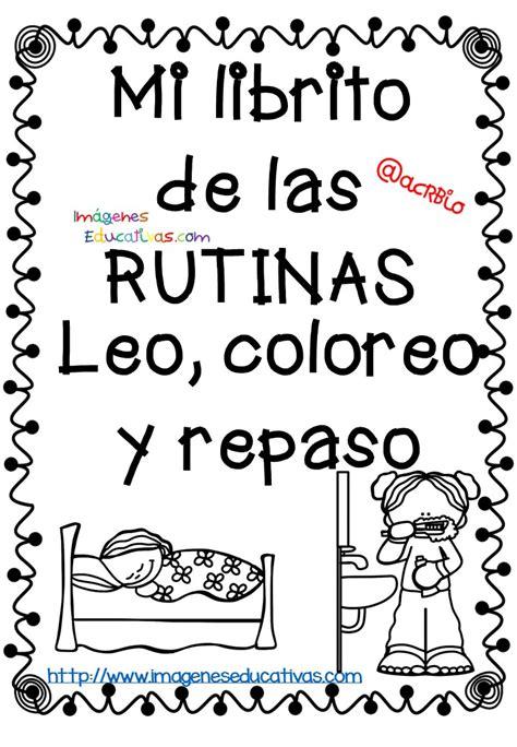 Rutinas libro para colorear y aprender (1) Imagenes