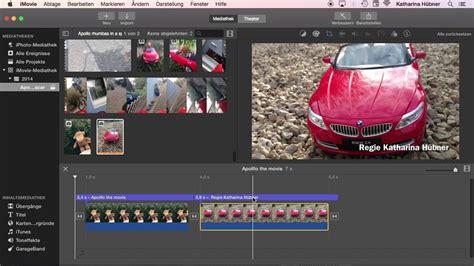 mit imovie bearbeiten das grosse mac training