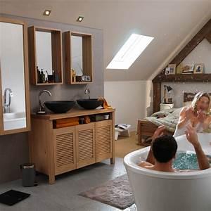 meuble de salle de bains castorama modern aatl With meuble pour salle de bain castorama