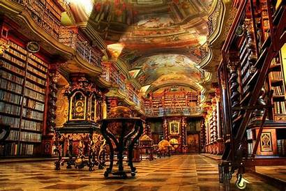 Library Background Wallpapers Hdr