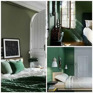 Chambre Verte Et Blanche. chambre verte marie claire maison. chambre ...