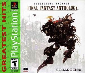 Final Fantasy Anthology Box Shot For PlayStation GameFAQs