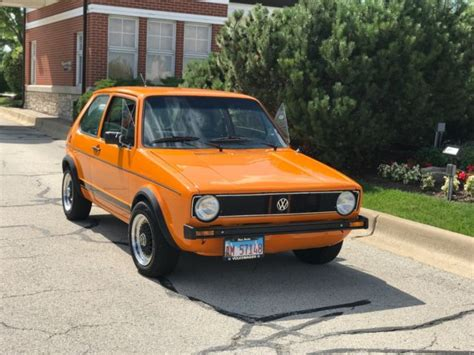 old volkswagen rabbit vw rabbit gti classic 1986