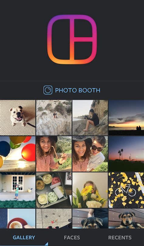 layout  instagram collage android apps  google play