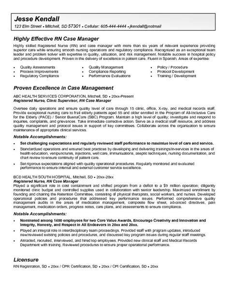 case management resume samples sample resumes